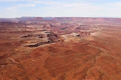 Het Nationale Park van Canyonlands Royalty-vrije Stock Afbeeldingen