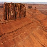 Het Nationale Park van Canyonlands, Moab, Utah. Royalty-vrije Stock Foto's