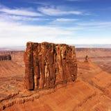 Het Nationale Park van Canyonlands, Moab, Utah. Royalty-vrije Stock Foto