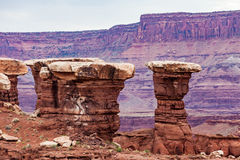 Het Nationale Park van Canyonlands, Utah, de V royalty-vrije stock fotografie