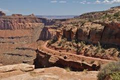 Het Nationale Park van Canyonlands in Utah, de V.S. Royalty-vrije Stock Foto's
