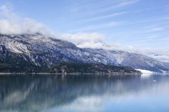 Het Nationale Park van de Baai van de gletsjer Stock Afbeelding