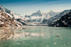 Het Nationale Park van de Baai van de gletsjer, Alaska Royalty-vrije Stock Afbeeldingen