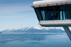 Het Nationale Park van de Baai van de gletsjer in Alaska Royalty-vrije Stock Foto's