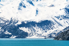 Het Nationale Park van de Baai van de gletsjer, Alaska stock afbeeldingen
