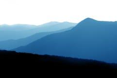 Het Nationale Park van de Berg van Smokey stock foto