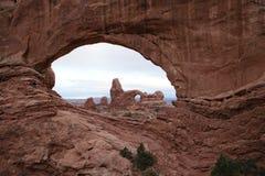 Het Nationale Park van de boog, de V.S. Stock Fotografie