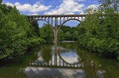 Het Nationale Park van de Cuyahogavallei, Ohio stock fotografie