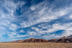 Het Nationale Park van de doodsvallei Royalty-vrije Stock Afbeelding