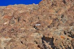 Het Nationale Park van de doodsvallei - Badwater-Bassin Royalty-vrije Stock Foto