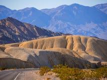 Het Nationale Park van de doodsvallei in Californië Royalty-vrije Stock Afbeelding