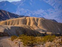 Het Nationale Park van de doodsvallei in Californië Stock Foto