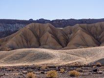 Het Nationale Park van de doodsvallei in Californië Stock Fotografie