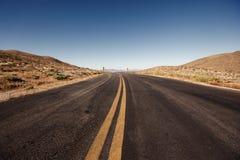 Het Nationale Park van de doodsvallei, Californië Royalty-vrije Stock Foto's