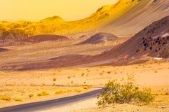 Het nationale park van de doodsvallei, Californië, de V Royalty-vrije Stock Fotografie