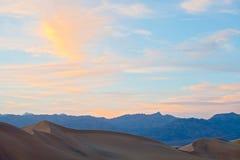 Het Nationale park van de doodsvallei, Californië de V.S. Stock Fotografie