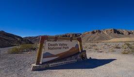 Het Nationale Park van de doodsvallei in Californië - DOODSvallei - CALIFORNIË - OKTOBER 23, 2017 Stock Afbeeldingen