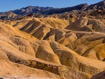 Het Nationale Park van de doodsvallei in Californië - prachtige rotsachtige landschappen Royalty-vrije Stock Afbeelding