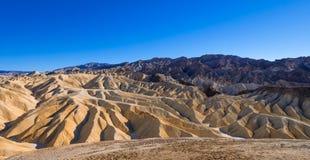 Het Nationale Park van de doodsvallei in Californië - prachtige rotsachtige landschappen Stock Fotografie