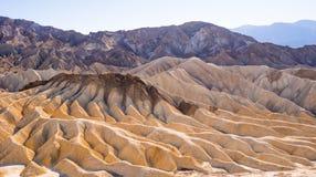 Het Nationale Park van de doodsvallei in Californië - prachtige rotsachtige landschappen Royalty-vrije Stock Foto