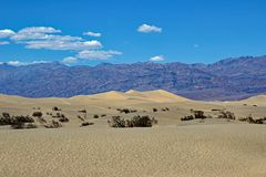 Het Nationale Park van de doodsvallei - Californië - de V.S. stock foto's