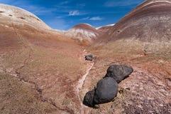 Het Nationale Park van de Ertsader van Captiol, Utah Royalty-vrije Stock Afbeeldingen