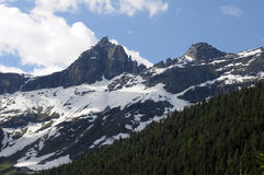 Het Nationale Park van de gletsjer stock foto