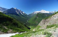 Het Nationale Park van de gletsjer Royalty-vrije Stock Foto's
