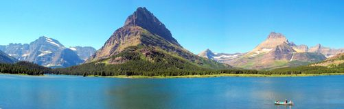 Het Nationale Park van de gletsjer Stock Fotografie