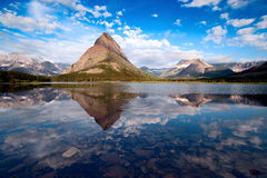 Het Nationale Park van de gletsjer. Montana Royalty-vrije Stock Foto