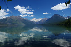 Het Nationale Park van de gletsjer in Montana Royalty-vrije Stock Fotografie