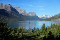 Het Nationale Park van de gletsjer in Montana Royalty-vrije Stock Foto's