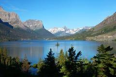 Het Nationale Park van de gletsjer in Montana Stock Afbeelding