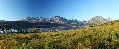 Het Nationale Park van de gletsjer in Montana Stock Foto's