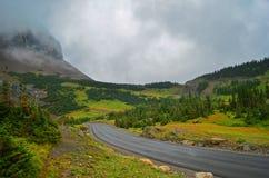 Het Nationale Park van de gletsjer, Montana, de V royalty-vrije stock foto