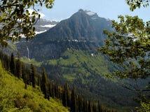 Het Nationale Park van de gletsjer - Montana - Verenigde Staten Stock Foto's
