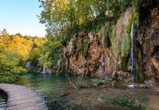 Het Nationale Park van de Meren van Plitvice Royalty-vrije Stock Afbeeldingen