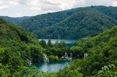 Het Nationale Park van de Meren van Plitvice, Kroatië Stock Fotografie
