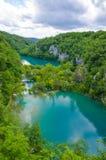 Het Nationale Park van de Meren van Plitvice, Kroatië Royalty-vrije Stock Foto's