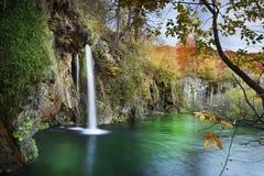 Het Nationale Park van de Meren van Plitvice Kroatië Royalty-vrije Stock Fotografie