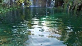 Het Nationale Park van de Meren van Plitvice Kroatië stock videobeelden