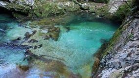 Het Nationale Park van de Meren van Plitvice Kroatië stock footage