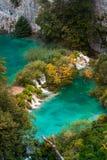 Het Nationale Park van de Meren van Plitvice in Kroatië Royalty-vrije Stock Foto's