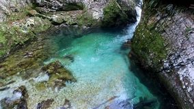 Het Nationale Park van de Meren van Plitvice Kroatië, Europa stock footage