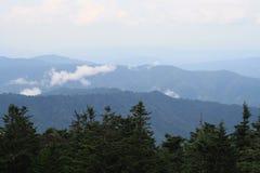 Het Nationale park van de Smokeyberg Stock Foto