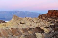 Het Nationale Park van de Vallei van de dood royalty-vrije stock fotografie