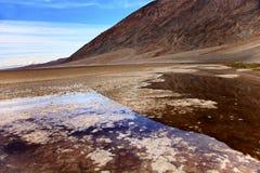 Het Nationale Park van de Vallei van de Dood van Badwater Royalty-vrije Stock Afbeelding
