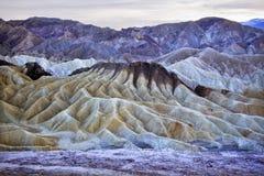 Het Nationale Park van de Vallei van de Dood van het Punt van Zabruski Stock Afbeeldingen