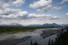 Het Nationale Park van Denali stock afbeeldingen