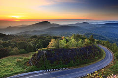 Het nationale park van Doiinthanon, ChiangMai, Thailand Royalty-vrije Stock Foto's